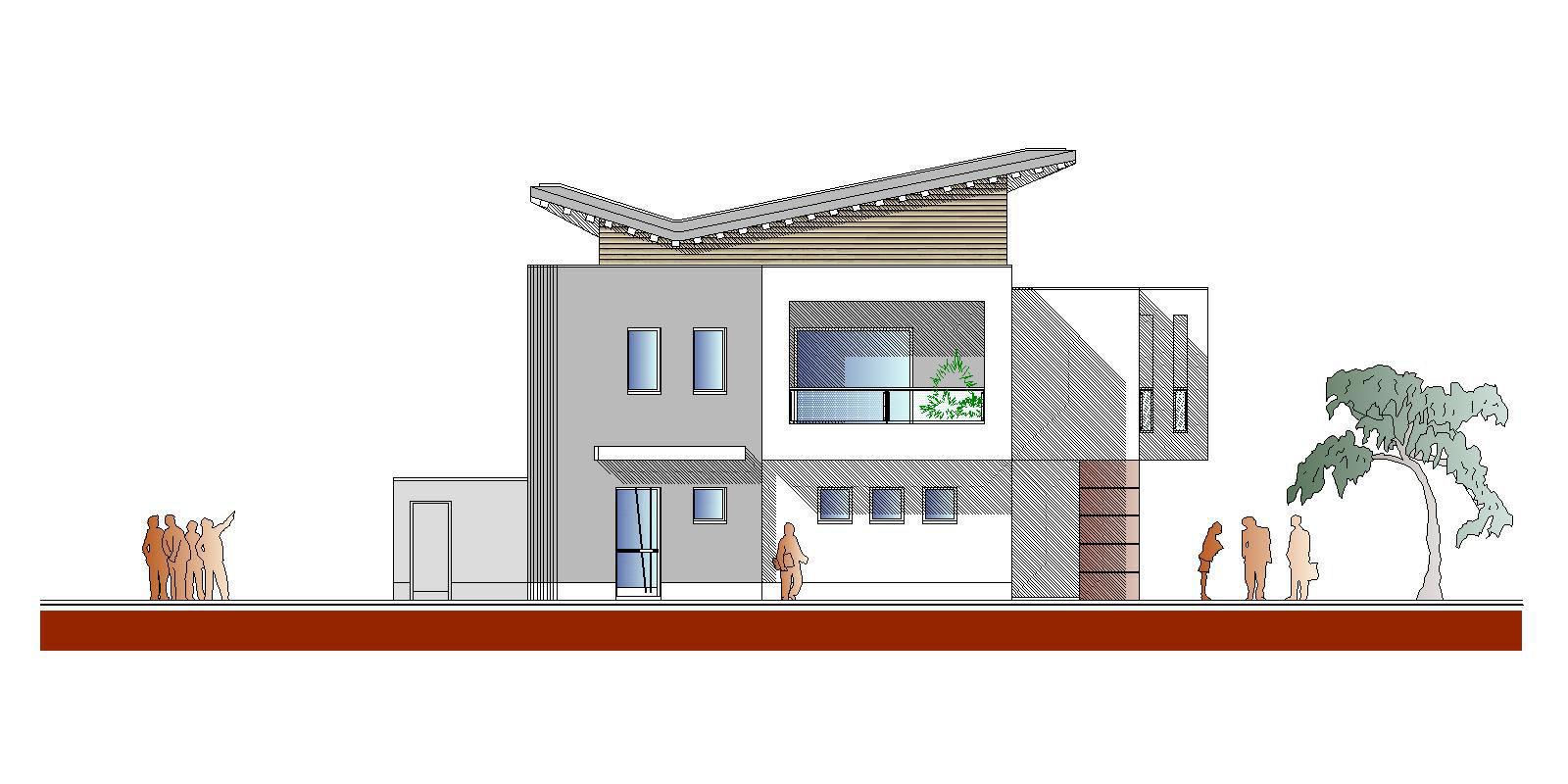 Pellegrini artuso architetti associati mirano nuovo for Piani di costruzione di edifici residenziali in metallo