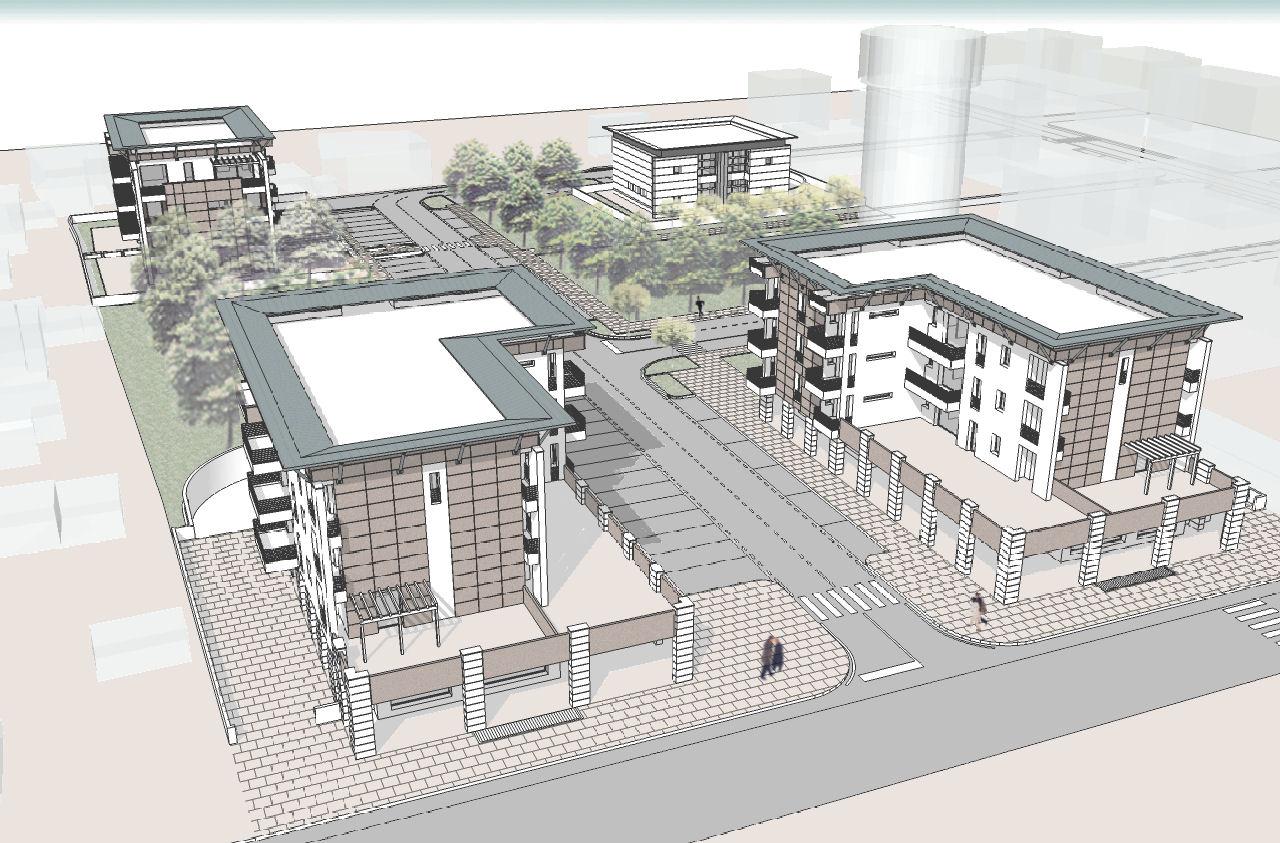 Pellegrini artuso architetti associati mirano for Piani di costruzione commerciali gratuiti