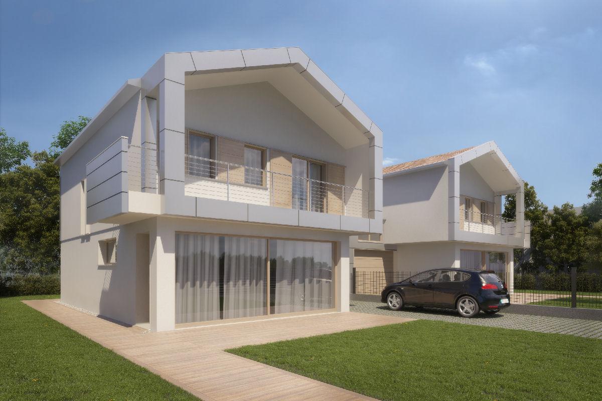 Pellegrini artuso architetti associati mirano villa for Piani di casa di architettura del sud